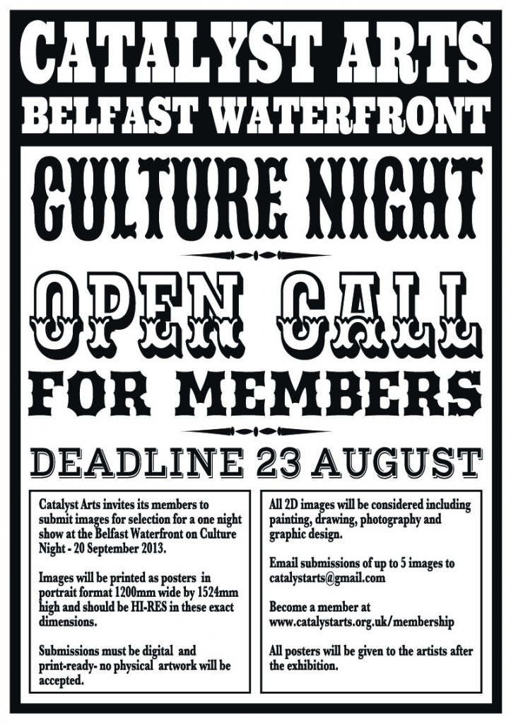open call poster-small