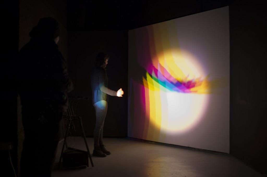 Helen MacMahon - 'Polychromatic Shadow Configuration Device'